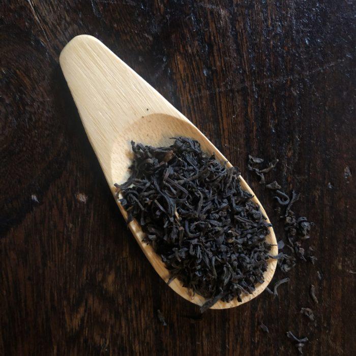 cuillère à thé en bambou